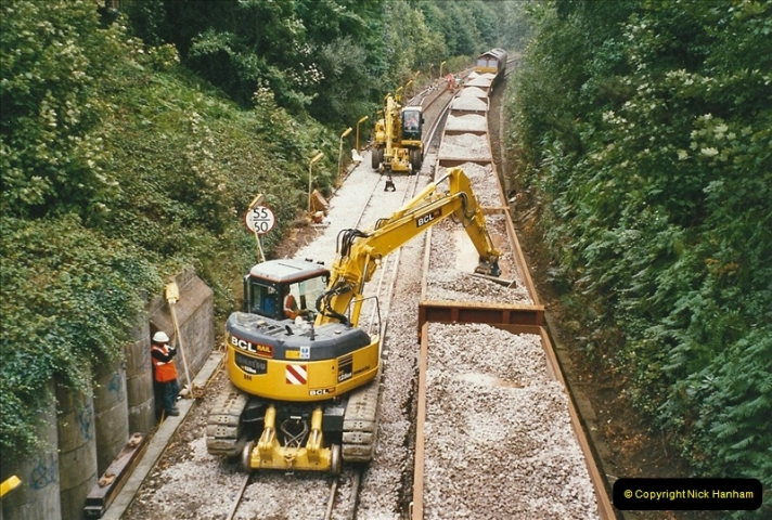 2004-09-12 Renewal of the up line @ Parkstone, Poole, Dorset.  (1)628