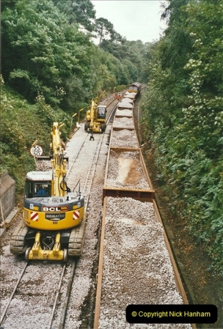 2004-09-12 Renewal of the up line @ Parkstone, Poole, Dorset.  (2)629