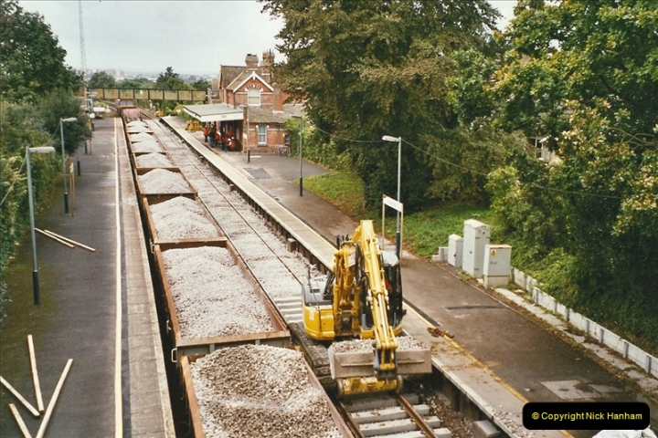 2004-09-12 Renewal of the up line @ Parkstone, Poole, Dorset.  (4)631
