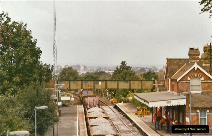 2004-09-12 Renewal of the up line @ Parkstone, Poole, Dorset.  (5)632