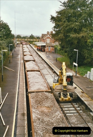 2004-09-12 Renewal of the up line @ Parkstone, Poole, Dorset.  (6)633