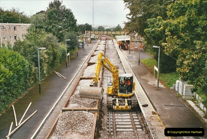 2004-09-12 Renewal of the up line @ Parkstone, Poole, Dorset.  (9)636