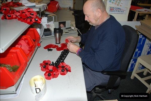 2010-11-24 The RBL Poppy Factory.  (27)31