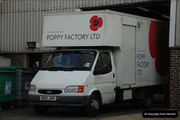 2010-11-24 The RBL Poppy Factory.  (5)09