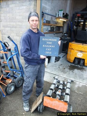 2015-10-28 Ringwood's memorial stone.  (2)81