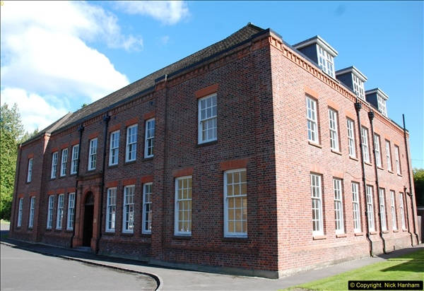 2015-09-12 Tour of what is left of the Royal Naval Cordite Factory at Holton Heath, Poole, Dorset.  (2)25