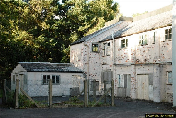 2015-09-12 Tour of what is left of the Royal Naval Cordite Factory at Holton Heath, Poole, Dorset.  (53)76