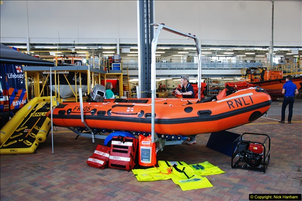 2015-06-22 RNLI Open Day including the new lifeboat building facility.  (33)033