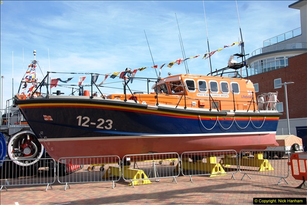 2015-06-22 RNLI Open Day including the new lifeboat building facility.  (52)052