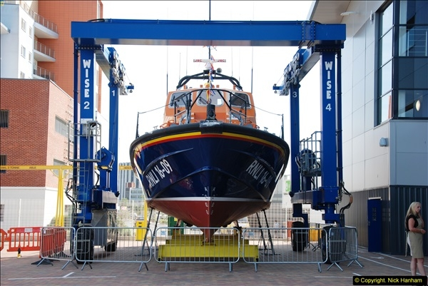 2015-06-22 RNLI Open Day including the new lifeboat building facility.  (46)046