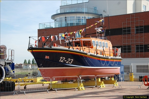 2015-06-22 RNLI Open Day including the new lifeboat building facility.  (47)047