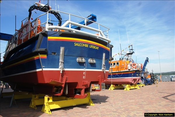 2015-06-22 RNLI Open Day including the new lifeboat building facility.  (50)050