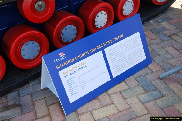 2015-06-22 RNLI Open Day including the new lifeboat building facility.  (60)060