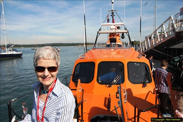 2015-06-22 RNLI Open Day including the new lifeboat building facility.  (79)079