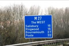 2016-04-02 Motorway and Dual Carriageway signs.  (11)094