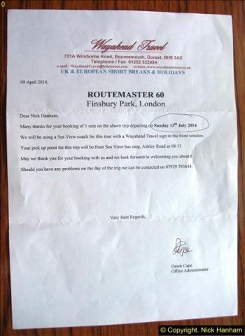 2014-07-13 Routemaster 60 @ Finsbury Park, London.  (1)001