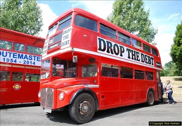 2014-07-13 Routemaster 60 @ Finsbury Park, London.  (105)105