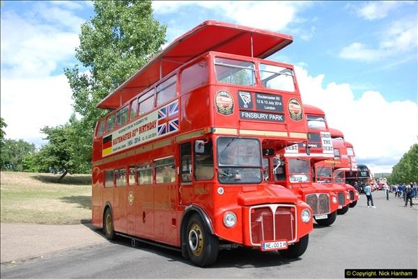 2014-07-13 Routemaster 60 @ Finsbury Park, London.  (106)106
