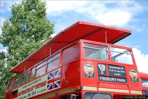 2014-07-13 Routemaster 60 @ Finsbury Park, London.  (107)107