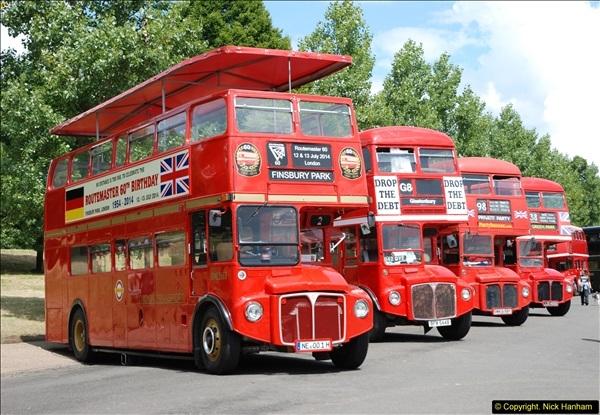 2014-07-13 Routemaster 60 @ Finsbury Park, London.  (109)109
