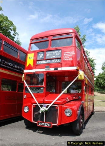 2014-07-13 Routemaster 60 @ Finsbury Park, London.  (114)114