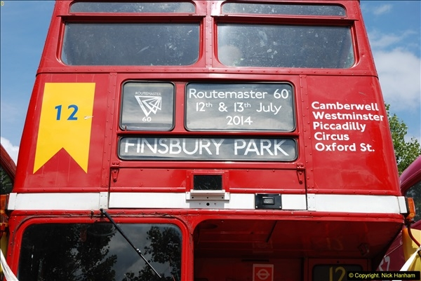 2014-07-13 Routemaster 60 @ Finsbury Park, London.  (115)115