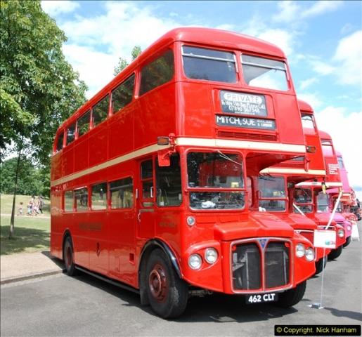 2014-07-13 Routemaster 60 @ Finsbury Park, London.  (118)118