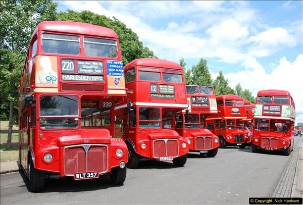 2014-07-13 Routemaster 60 @ Finsbury Park, London.  (123)123