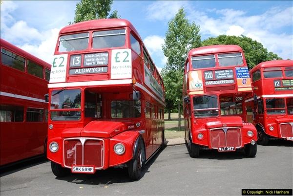2014-07-13 Routemaster 60 @ Finsbury Park, London.  (125)125