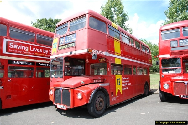 2014-07-13 Routemaster 60 @ Finsbury Park, London.  (127)127