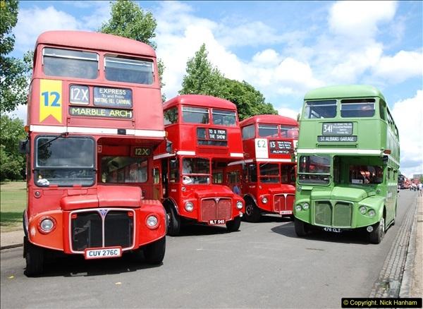 2014-07-13 Routemaster 60 @ Finsbury Park, London.  (129)129