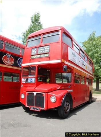 2014-07-13 Routemaster 60 @ Finsbury Park, London.  (166)166