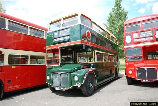 2014-07-13 Routemaster 60 @ Finsbury Park, London.  (168)168