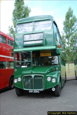 2014-07-13 Routemaster 60 @ Finsbury Park, London.  (184)184