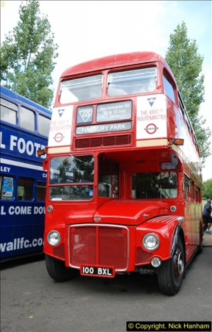 2014-07-13 Routemaster 60 @ Finsbury Park, London.  (189)189