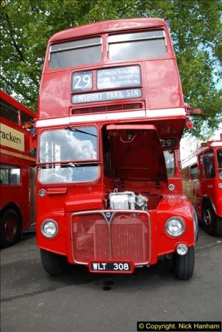 2014-07-13 Routemaster 60 @ Finsbury Park, London.  (205)205