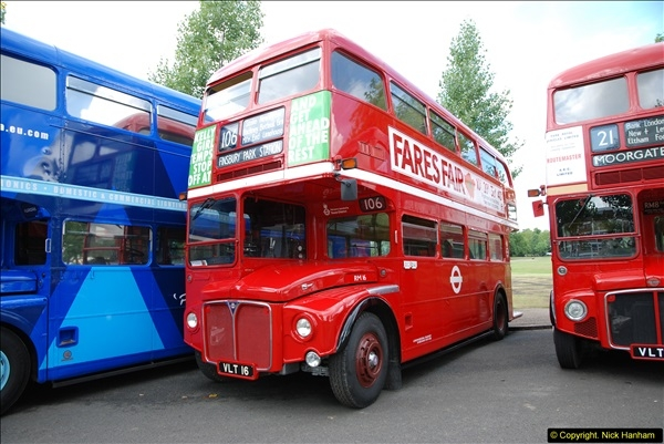 2014-07-13 Routemaster 60 @ Finsbury Park, London.  (210)210