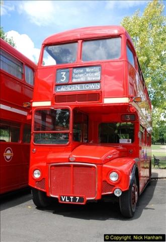2014-07-13 Routemaster 60 @ Finsbury Park, London.  (232)232
