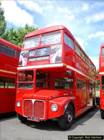 2014-07-13 Routemaster 60 @ Finsbury Park, London.  (233)233