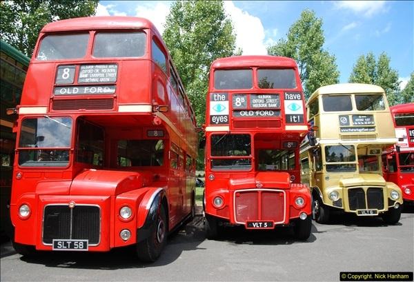 2014-07-13 Routemaster 60 @ Finsbury Park, London.  (256)256