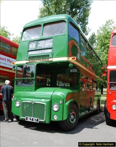 2014-07-13 Routemaster 60 @ Finsbury Park, London.  (257)257