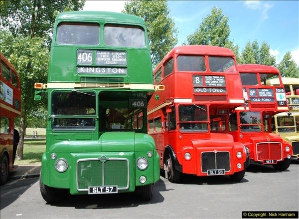 2014-07-13 Routemaster 60 @ Finsbury Park, London.  (258)258