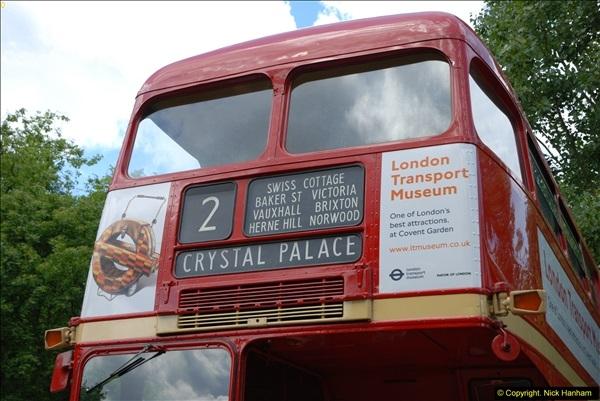 2014-07-13 Routemaster 60 @ Finsbury Park, London.  (266)266