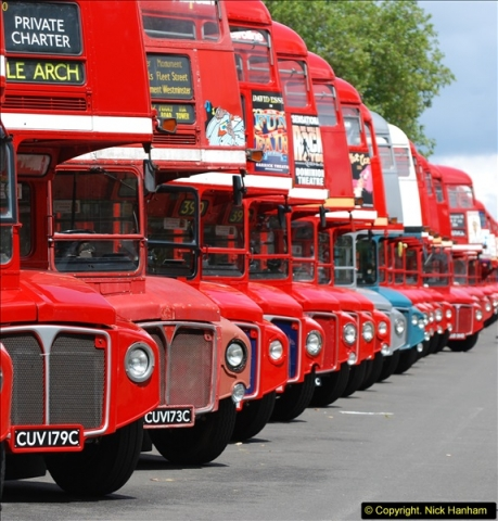 2014-07-13 Routemaster 60 @ Finsbury Park, London.  (287)287