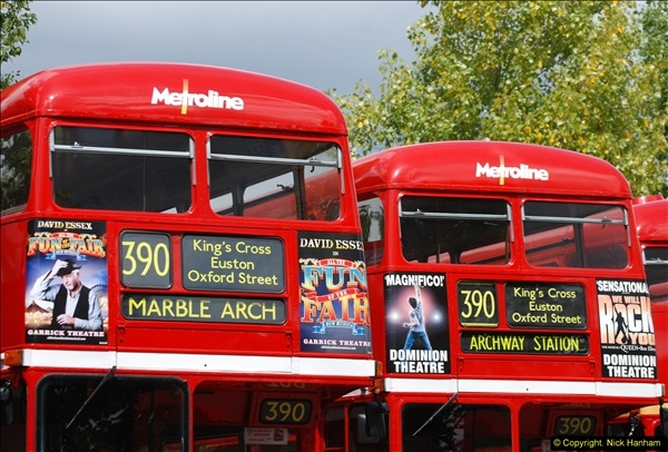 2014-07-13 Routemaster 60 @ Finsbury Park, London.  (288)288