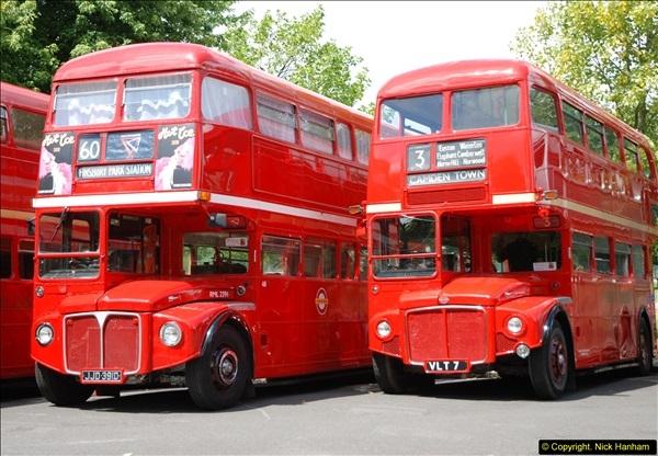 2014-07-13 Routemaster 60 @ Finsbury Park, London.  (290)290