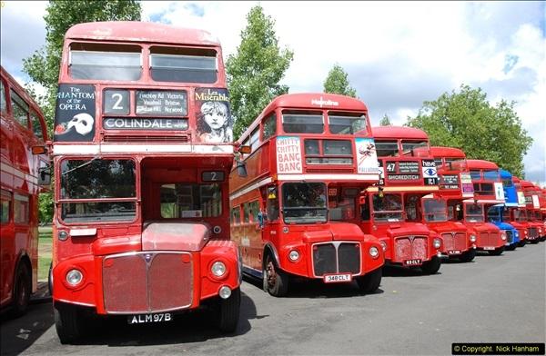 2014-07-13 Routemaster 60 @ Finsbury Park, London.  (296)296
