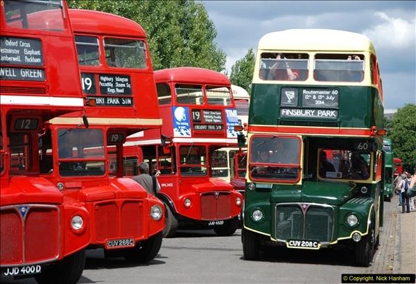 2014-07-13 Routemaster 60 @ Finsbury Park, London.  (321)321