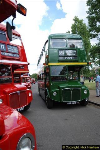 2014-07-13 Routemaster 60 @ Finsbury Park, London.  (327)327