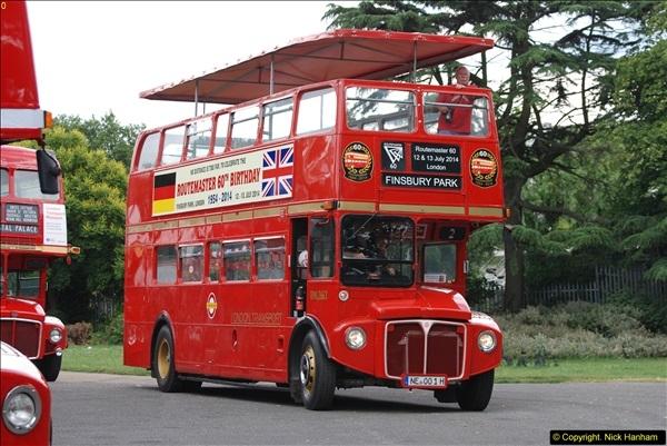 2014-07-13 Routemaster 60 @ Finsbury Park, London.  (335)335